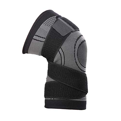 IPOTCH Kniebandage mit Klettverschluss, Knieschoner für Sport und Alltag, Kniestütze für Damen und Herren - 3XL