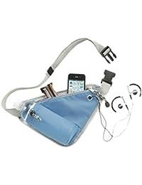 Voberry Kettle Waist Pack Fanny Pack Bum Bag Hip Money Bag Belt Outdoor Sports Bag (SkyBlue)