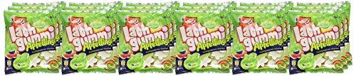 nimm2 Lachgummi Apfellinge – Spaßiges Fruchtgummi mit Vitaminen – 18er Pack (18 x 180g)
