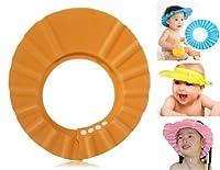 Baby Hair Washing Hat (Orange)