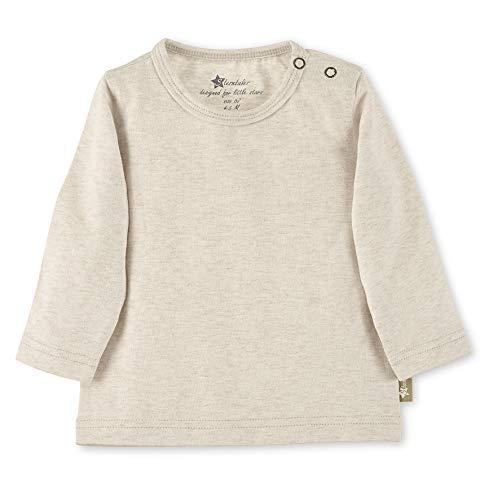 Sterntaler Unisex Langarmshirt für Babys und Kleinkinder, Alter: 9-12 Monate, Größe: 80,Beige (Ecru), 5661902