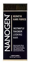 Nanogen Hair Thickening Fibres Dark Brown, 1er Pack (1 x 15 g)