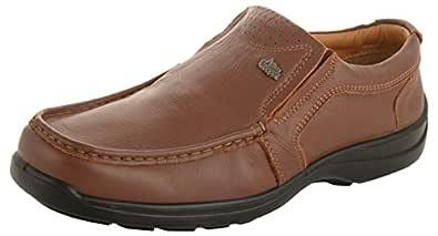 Allen Cooper ACFS-33525 Men's Tan Leather Loafers - 6 UK