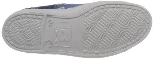 Bensimon Tennis Carreaux Doux Enfant, Unisex - Kinder Sneaker Blau - Bleu (Bleu 532)