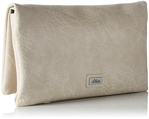 s.Oliver (Bags) Damen Clutch , 2x13.5x26 cm Braun (Braun)