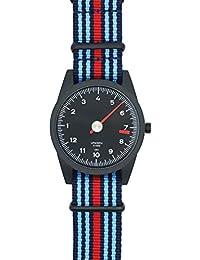 Blau und rot gestreiftes Nato Uhrenarmband