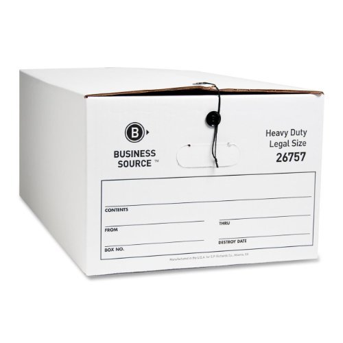 Business Source File Storage Box by Business Source