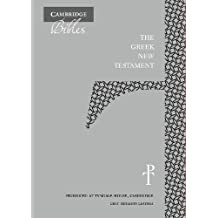 The Greek New Testament, Grey Imitation Leather TH512:NT: Produced at Tyndale House, Cambridge