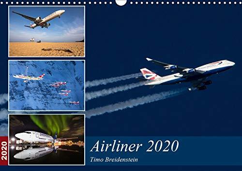 Airliner 2020 (Wandkalender 2020 DIN A3 quer)