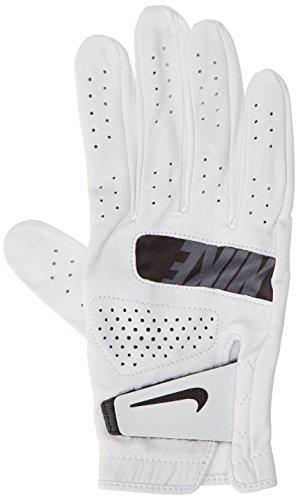 Nike Herren Tour Right Regular Golf Handschuhe, White/Black, M/L (Personalisierte Golf-handschuhe)
