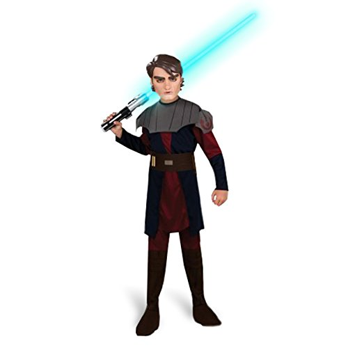 Clone Wars Kinder Kostüm Anakin Skywalker Star Wars Kinderkostüm Jediritter Gr L 8-10 Jahre (Jungle Boy Kostüm)