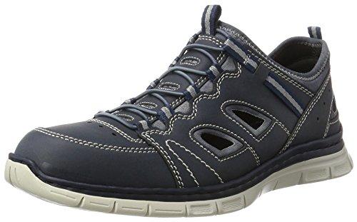 Rieker Herren B4876 Sneakers Blau (denim/denim / 15)