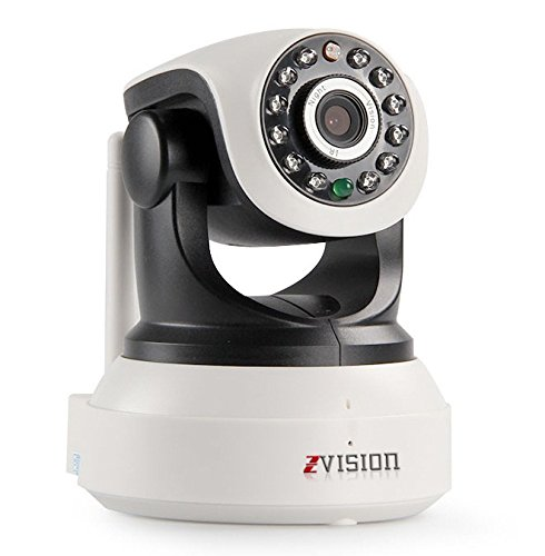 ZVision HD 720P P2P Wireless Wi-Fi Baby Monitor IP PTZ CCTV Camera with Memory Card Slot