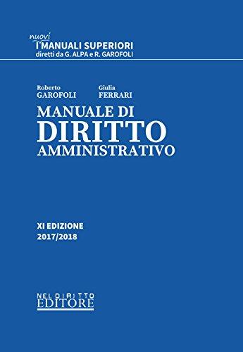 Manuale di diritto amministrativo. Con Contenuto digitale per download e accesso on line