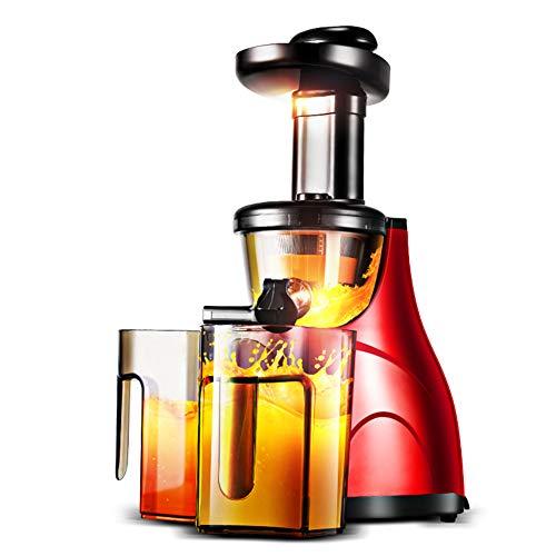 Juicer Maschine, Saft Vollkorn und Gemüse mit Dual-Stage Quiet Motor, Cold Press Juicer schafft frischen gesunden Gemüse und Fruchtsaft