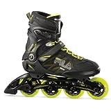 Fila Skates–Patines Crossfit Negro de Lime, color schwarz-lime, tamaño 8