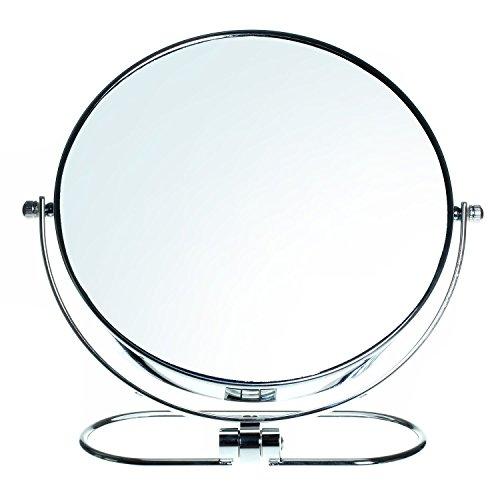 HIMRY Faltbare Doppelseitig Kosmetik Spiegel 8 inch, 7x Vergrößerung, 360° drehbar....