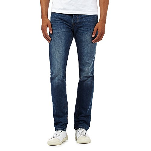j-by-jasper-conran-mens-designer-mid-blue-straight-leg-vintage-wash-jeans-32l