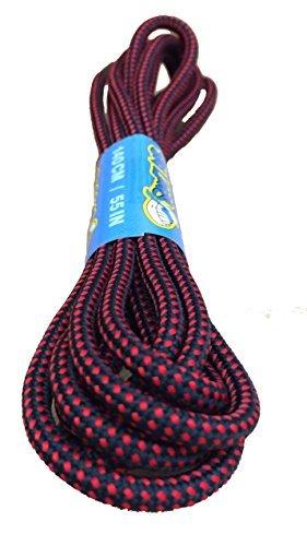 Cordones para senderismo, forma redonda, resistentes, tamaño grande, de110 a 210cm, color, talla 140 cm