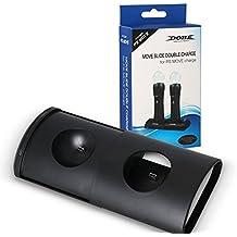 Childhood Mover la diapositiva cargador doble adaptador de corriente puerto dual para PS mover PS3 PS4 mover juego PS VR Comtroller
