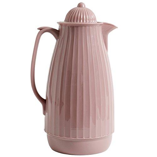 NORDAL · 7986 Thermoskanne Teekanne Kaffeekanne 1000ml 28cm · rosé