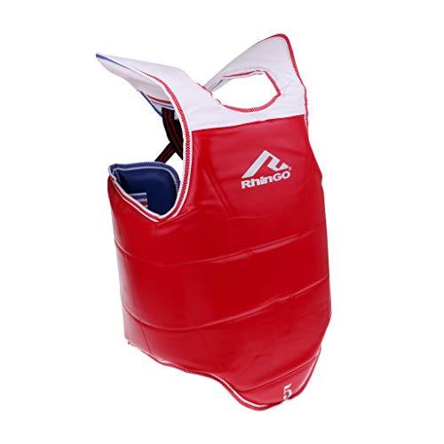 Baoblaze Boxen Kampfsport Körperschutz Bauchschutz Brustschutz Kampfwesten Taekwondo Körperpanzer - XL