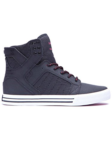 Supra SKYTOP Unisex-Erwachsene Hohe Sneakers Black/Red/White