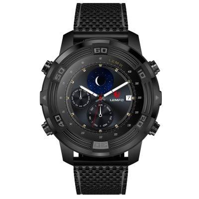 LEMFO LEM6 - Telefono Smartwatch 3G (con cinturino sostituibile), IP67 Impermeabile Tracker GPS Quad Core 1.0 GHz 1 GB + 16 GB...