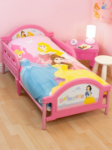 Disney Princess Toddler Bed and Foam Mattress