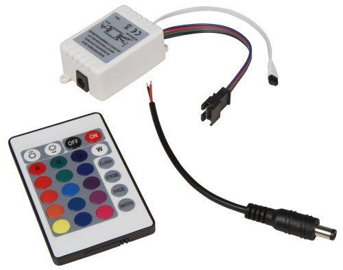 Preisvergleich Produktbild RGB-Controller für LED-Bodenleuchte McShine ''Fine''. inkl. Fernbedienung