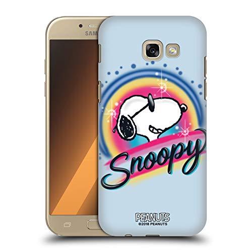 Head Case Designs Offizielle Peanuts Farbige Sonnenbrille Snoopy Plankenweg-Spritzpistole Harte Rueckseiten Huelle kompatibel mit Samsung Galaxy A5 (2017)