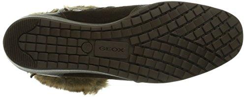 Geox D Hennie, Bottes de neige femme Marron (Coffee/Coffeec6020)