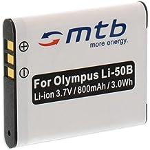 Batería Li-50b para Olympus VH-510, VH-520, VR-340, VR-350, VR-360, XZ-1, XZ-10.... (ver descripción)