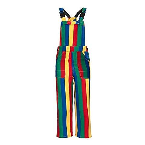 Kostümplanet® Clown-Kostüm Kinder Jungen und Mädchen Clowns Latzhose Größe 164