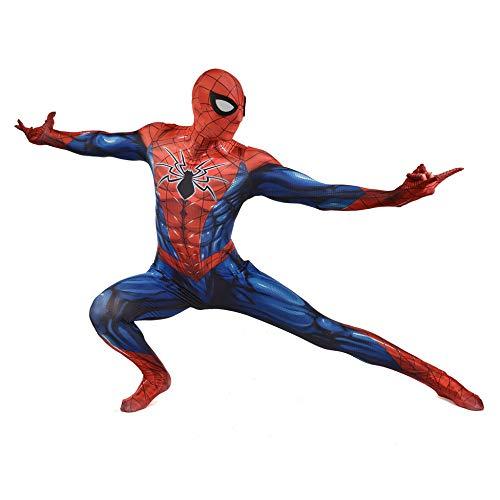 SEJNGF 3D Digitaldruck Stahl Muskel Mann Körper Strumpfhosen Halloween Charakter Performance Kleidung (Kopfbedeckung Kann Getrennt ()