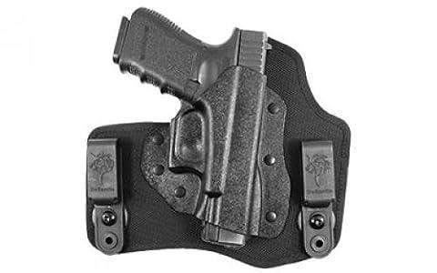 Desantis Invader Inside The Pant Nylon Holster fits Glock 17,19,26, Right, Black by DeSantis