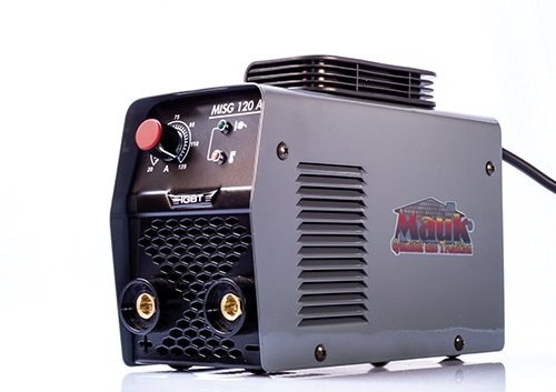 Mauk 1749Inverter electrodos schweis dispositivo Basic 120a + accesorios, 230V, Gris