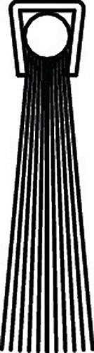 Preisvergleich Produktbild Bürstendichtung Polyamid Länge 1000mm Höhe 16mm Haarbesatz 10mm