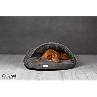 Collared Creatures Dog Cave Bed, Dog Bed, Large 889mm (35