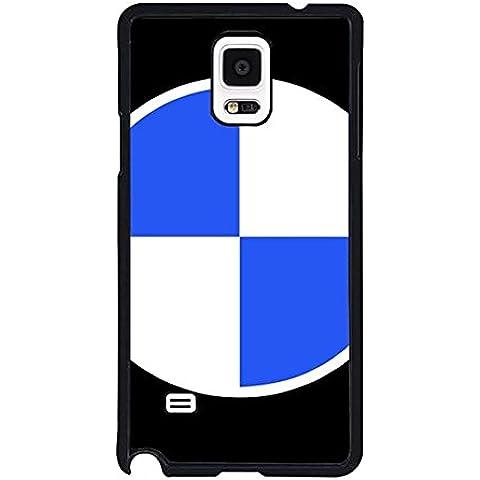 Genial para Galaxy Note 4, BMW Logo logotipo de personalizado único creativo protector para Samsung Galaxy Note 4