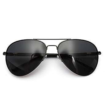 OUTERDO 100% UV400 lunettes de soleil polarisé conduite sport aviateur Police Hommes Femmes