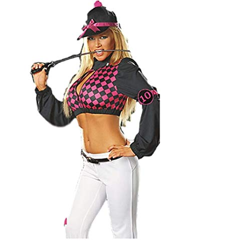 Sexy Jockey Kostüm - Top Totty Sexy Pferdekostüm, Jockey