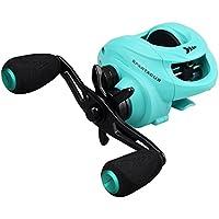 KastKing Carrete de pesca Spartacus Plus Baitcasting Reel,fibra de carbono ultra lisa, 11 + 1 rodamientos de bolas blindados Nueva versión para Saltwater