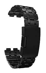 pebble 40022 Armband für Steel Smart Watch matte schwarz