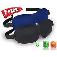 Schlafmaske Damen und Herren, 2 Stück EFULL Augenmaske zum Schlafen 3D konturierte Form Leichte und Bequeme Schlafbrille... preisvergleich bei billige-tabletten.eu