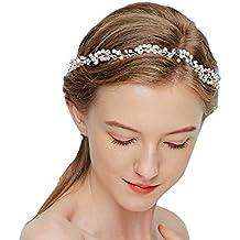 Vintage Braut Gold Haarspangen Haar Kamm Haarband Crystal Strass
