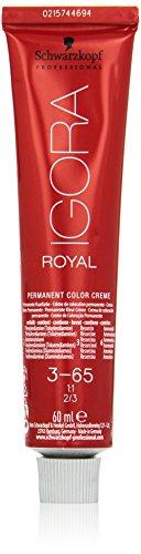 Schwarzkopf IGORA Royal Premium-Haarfarbe 3-65 dunkelbraun schoko gold, 1er Pack (1 x 60 g)
