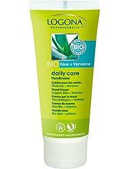 Logona - 1011mai - Daily Care - Soin du Corps - Crème pour les Mains Aloès Bio / Verveine - 100 ml