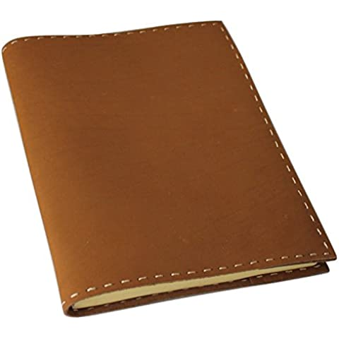 """Refillable Classic Leather Journal/Instagram Photo Album with Handmade Paper - 8""""x 6"""""""
