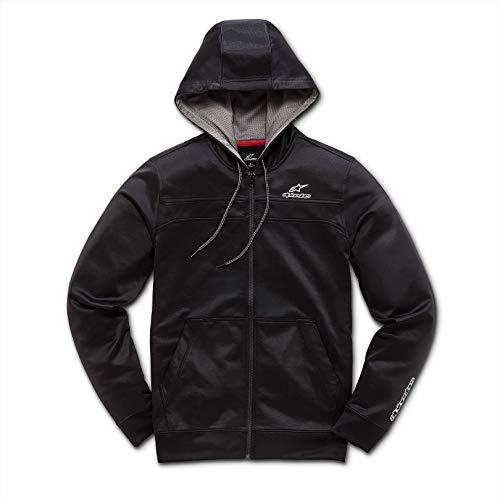Alpinestars Herren Freeride Fleece, Black, L Lined Hooded Full Zip Sweatshirt
